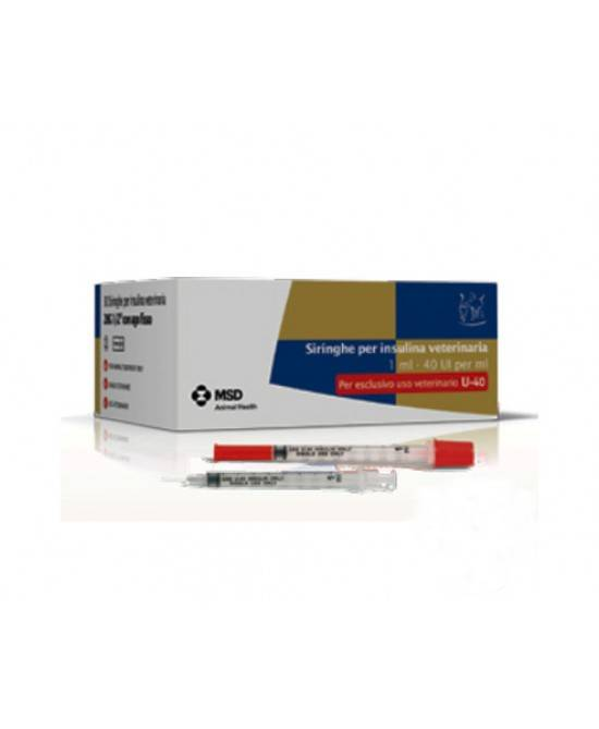 Msd Animal Health Srl Msd Siringa Per Insulina Veterinaria 40ui/ml 30 Pezzi