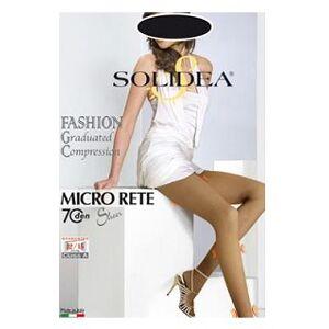 Solidea By Calzificio Pinelli Micro Rete 70 Sheer Nero 3-Ml