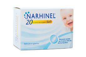 Glaxosmithkline C.Health.Spa Narhinel Ricarica Usa E Getta Per Aspiratore Nasale 20 Pezzi