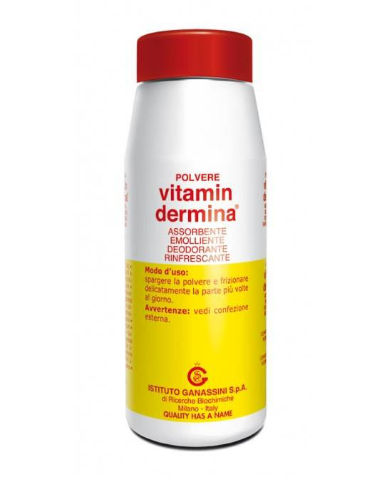 Ist.Ganassini Spa Vitamin Dermina Polvere Assorbente Protettiva 100g