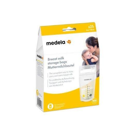 Medela Italia Srl Storage Bags Sacca Per La Conservazione Del Latte Materno 25 Pezzi