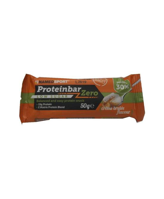Namedsport Srl Proteinbar Zero Creme Brulee 50 G