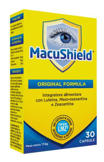 Alliance Pharma Srl Macushield Original Formula 30 Capsule
