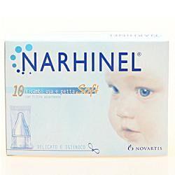Glaxosmithkline C.Health.Spa Ricarica Usa E Getta Per Aspiratore Nasale Narhinel 20 Pezziusa E Getta Soft