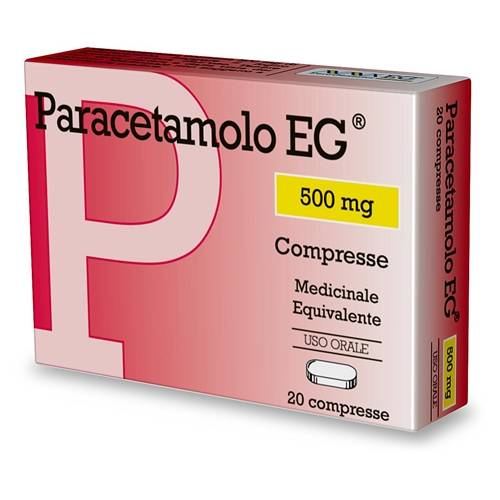 Eg Spa Paracetamolo Eg*20cpr 500mg