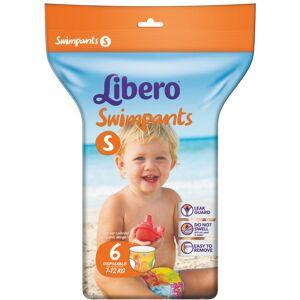 Sca Hygiene Products Spa Libero Swimpants Pannolini Bb Taglia S 6 Pezzi
