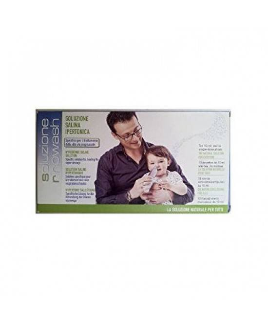 Air Liquide Medical Syst. Spa Rinowash Soluzione Salina Ipertonica 10 Fiale Da 10ml
