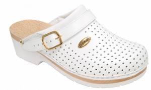 Dr.Scholl'S Div.Footwear Clog S/comf.B/s Ce Bycast Unisex White Woods Bianco 36