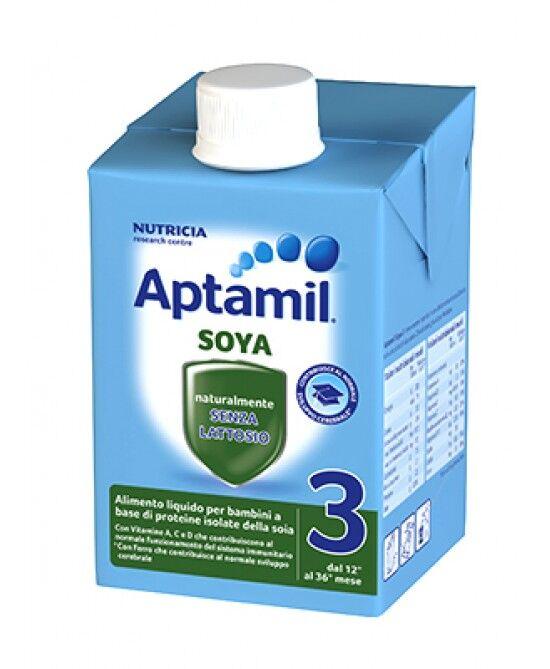 Mellin Aptamil Latte Di Crescita Soya 3 Liquido 500ml
