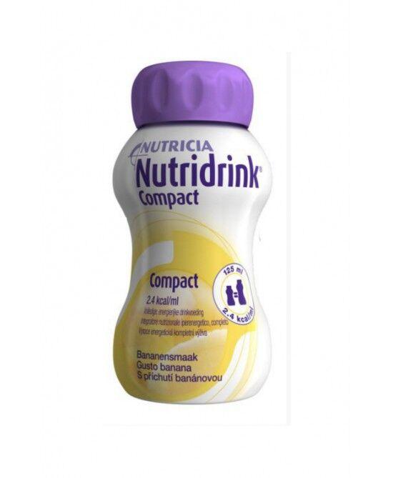 Nutricia Italia Spa Nutricia Nutridrink Compact Integratore Alimentare Gusto Banana 4x125ml