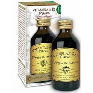 Dr.Giorgini Presso Ser-Vis Srl Vitamina B12 Pura 100 Ml Liquido Analcoolico