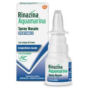 Glaxosmithkline C.Health.Spa Rinazina Aquamarina Spray Nasale Ipertonico Con Eucalipto 20 Ml