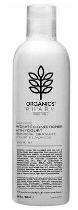 sma srl organics pharm hydrate conditioner with yogurt and lavender