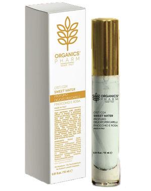 sma srl organics pharm sweet water profumo delicato capelli 15 ml