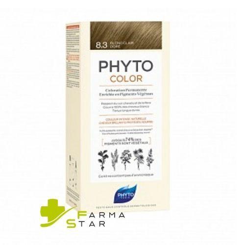 Phyto (Ales Groupe Italia Spa) Phytocolor 10 Biondo Chiarissimo Extra Latte 50 Ml + Crema 50 Ml + Maschera 12 Ml + Guanti