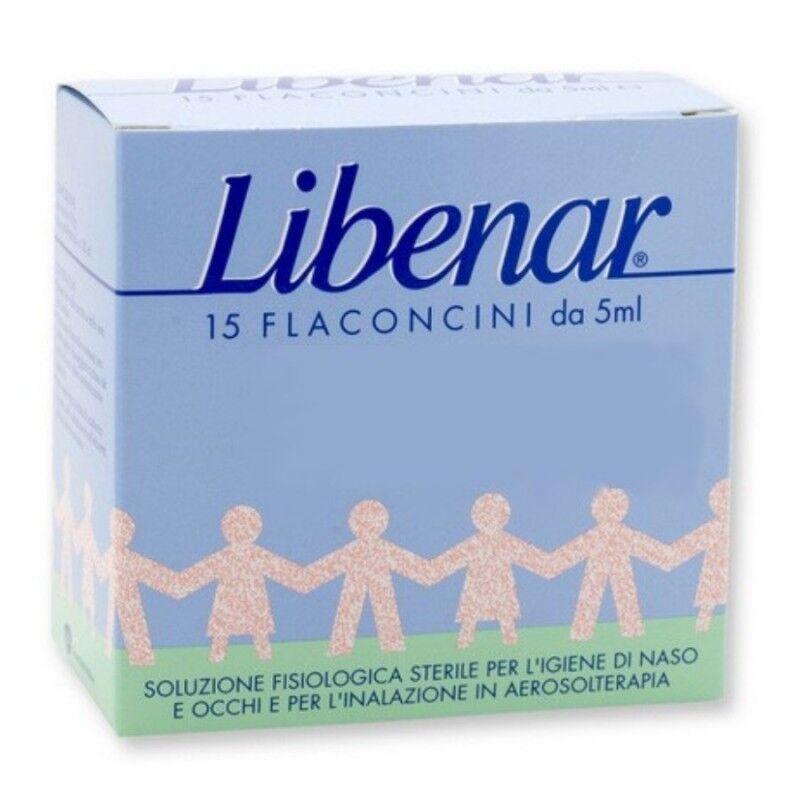 Chefaro Pharma Italia Srl Chefaro Pharma Libenar 15 Flaconcini Soluzione Isotonica 5 Ml