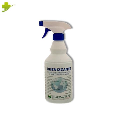 Eurosicura Gruppo Spray Igienizzante Superfici Con Ipoclorito Di Sodio 750ml Pharmaverde