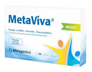 metagenics belgium bvba metaviva multi integratore per stanchezza fisica e mentale metagenics 30 compresse