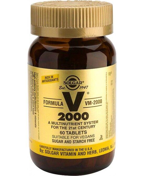 Solgar It. Multinutrient Spa Solgar Vm 2000 Supplement Integratore Alimentare 60 Tavolette
