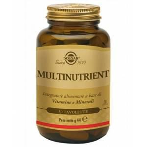 Solgar It. Multinutrient Spa Solgar Multinutrient 30 Tavolette