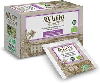 aboca spa societa' agricola aboca sollievo bio tisana 20 filtri da 2,2 g
