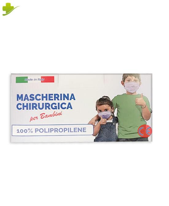 null mascherina chirurgica per bambini usa e getta pacco da 50 pezzi
