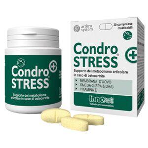 Innovet Italia Srl Condrostress + Supporto Del Metabolismo Articolare In Corso Di Osteoartrite 30 Compresse Masticabili Innovit