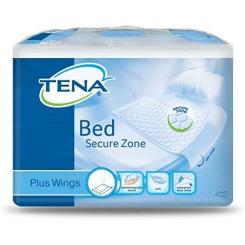Sca Hygiene Products Spa Traversa Per Incontinenza Tena Bed Plus Rimboccabile 80x180 Cm Plus 20 Pezzi