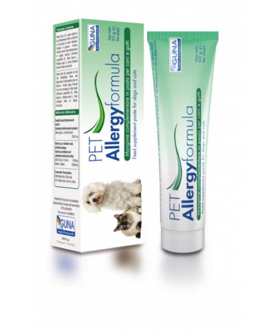 Guna Spa Guna Pet Allergyformula Mangime Complementare (Pasta) 50g