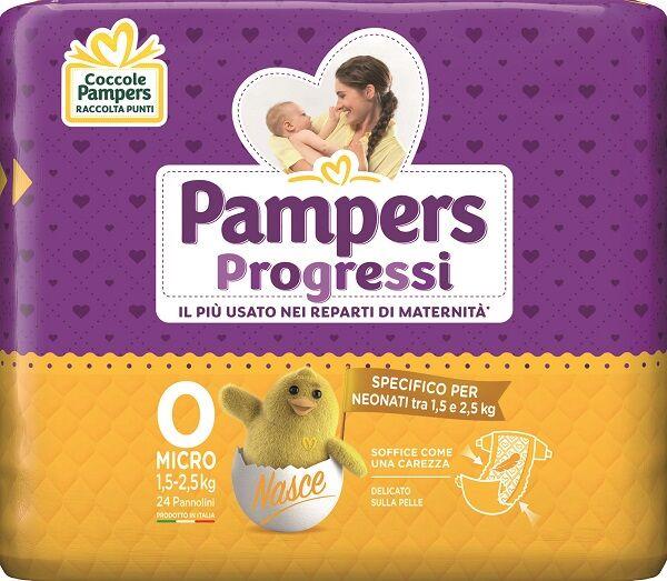 Fater Spa Pampers Micro Pannolini Per Bambini 24 Pezzi