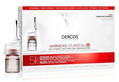 Vichy (L'Oreal Italia Spa) Dercos Aminexil Fiale 21 Donna 6 Ml