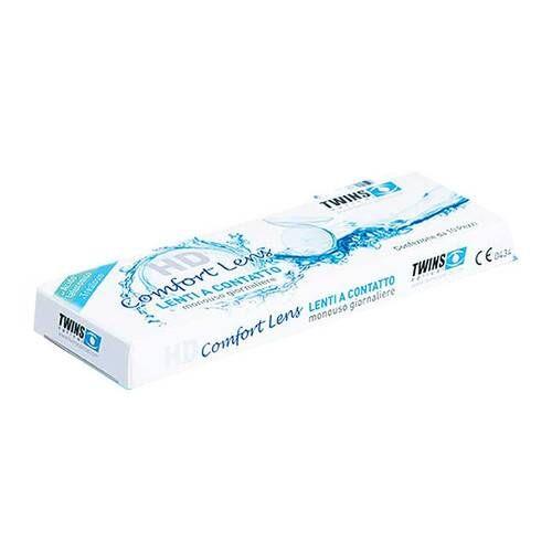 mast industria italiana srl twins optical lenti a contatto giornaliere hd comfort lens 2.25 10 pezzi