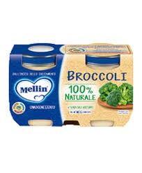Mellin Omogeneizzato Broccoli 2 X 125 G