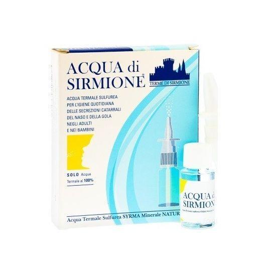 Terme Di Sirmione Acqua Sirmione Minerale Naturale 6 Flaconcini Da 15ml