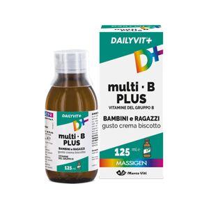 Marco Viti Farmaceutici Spa Dailyvit+ Multi B Plus Vitamine Del Gruppo B Per Bambini E Ragazzi Gusto Crema Biscotto 125 Ml