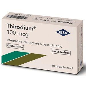 Ibsa Farmaceutici Italia Srl Thirodium 100mcg 30 Capsule