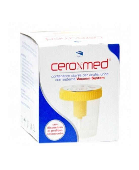 bouty spa ceroxmed contenitore urina vacuum system 1 pezzo