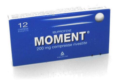 Angelini Spa Moment Ibuprofene 200mg 12 Compresse