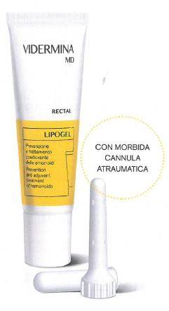 Ist.Ganassini Spa Vidermina Rectal Md Lipogel 30 Ml
