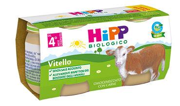 Hipp Italia Srl Hipp Bio Omogeneizzato Vitello 80 G 2 Pezzi