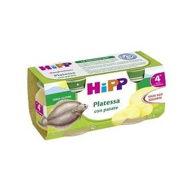 Hipp Italia Srl Hipp Omogeneizzato Platessa Con Patate 2x80 G