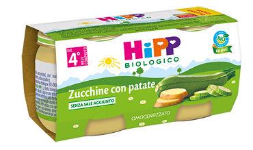 Hipp Italia Srl Hipp Bio Hipp Bio Omogeneizzato Zucchine Con Patate 2x80 G