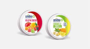 Unico Spa Unidea Caramelle Gelatine Frutta 40 G