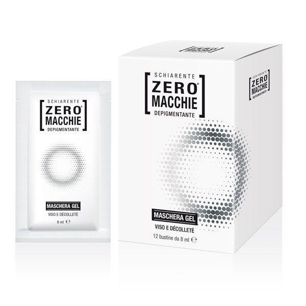 consulteam srl zero macchie maschera gel 12 bustine 8 ml