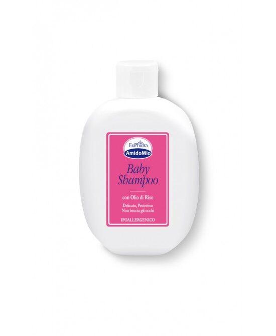Zeta Farmaceutici Spa Euphidra Amidomio Baby Shampoo Con Olio Di Riso  200ml
