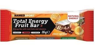 namedsport srl barretta energetica total energy fruit choco-apricot 35 g