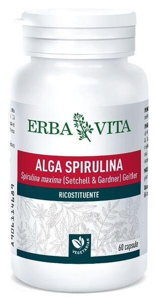 erba vita group spa alga spirulina 60 capsule 450 mg