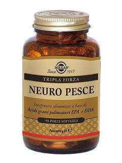 solgar it. multinutrient spa solgar neuro pesce integratore alimentare 50 perle softgels