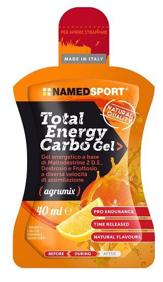 namedsport srl namedsport total energy carbo gel agrumix 40ml