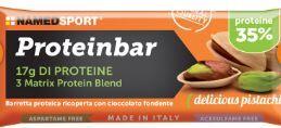 namedsport srl barretta proteica 35 % proteinbar pistacchio